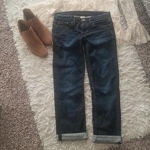 Banana Republic Dark Straight Jeans